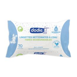 Dodie Lingettes nettoyantes à l'eau Dermo-apaisante– x70
