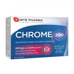 Forté Pharma Chrome 200 - 30 comprimés