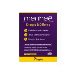 Manhaé Énergie & défense - 30 gélules
