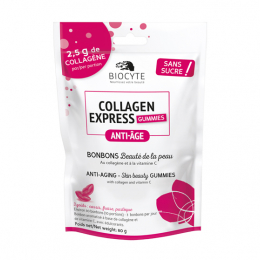 Biocyte Collagen express Gummies anti-âge - 80g