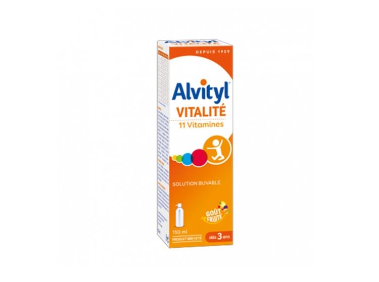 Alvityl Vitalité 11 vitamines dès 3 ans - 150ml