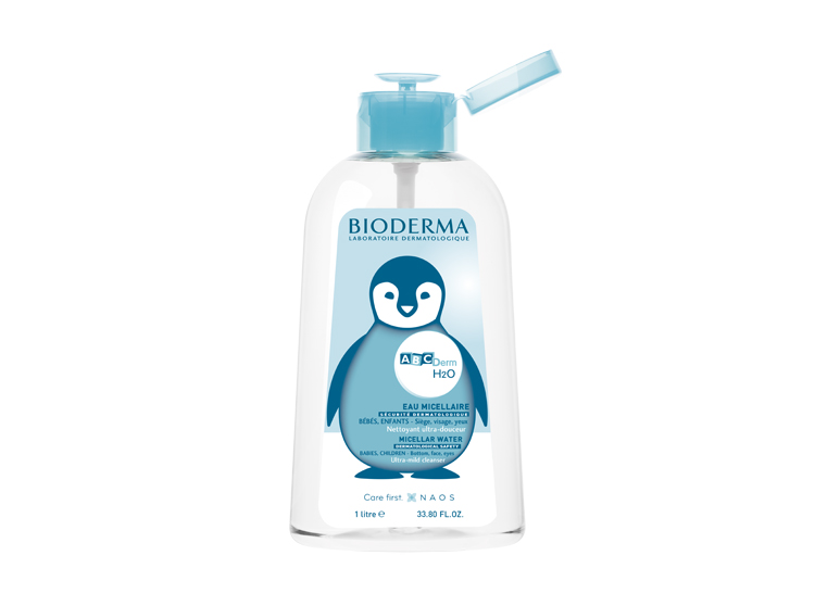 Bioderma Abcderm H2O solution micellaire - 1L