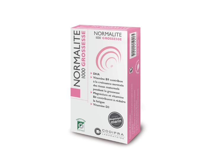 Codifra Normalité 1000 grossesse - 30 capsules