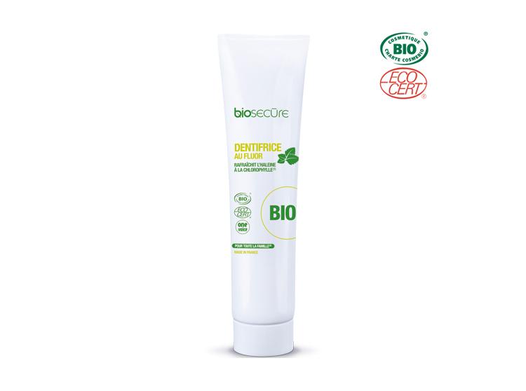 Bio Secure dentifrice au fluor BIO - 75ml
