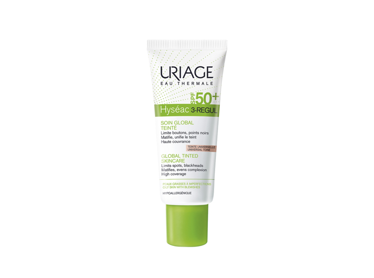 Uriage Hyséac 3-regul Soin global teinté SPF50+ - 40ml